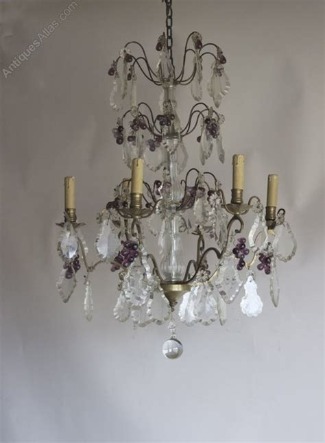 Pretty Chandeliers Antiques Atlas Pretty Antique Chandelier With Amethyst