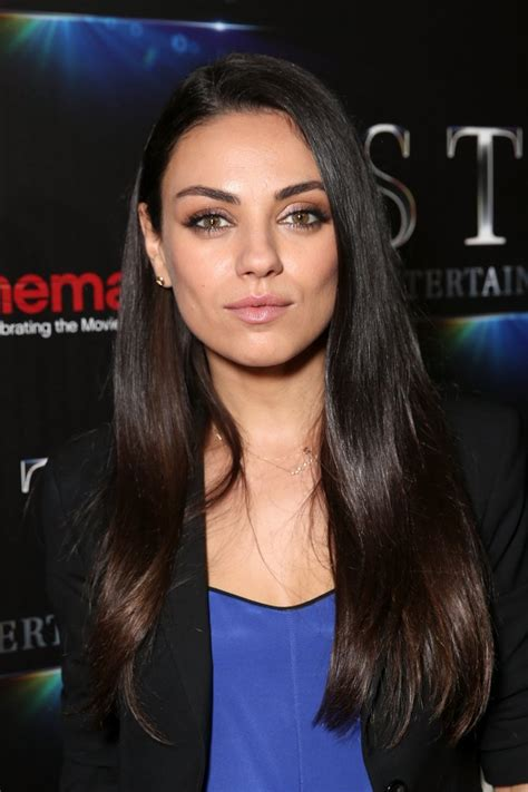 mila kunis low ponytail photo instyle com