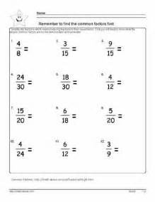 Simplify the fractions reduce fractions to lowest terms worksheets