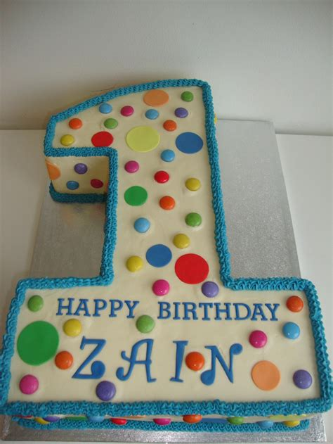 polka dot number 1 cake celebration cakes cakeology
