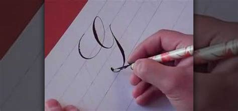 how to write the letter g in calligraphy copperplate 171 drawing illustration wonderhowto