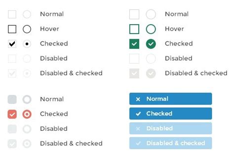 html design checkbox jquery plugin for beautifying checkboxes and radio buttons