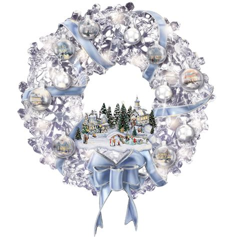 thomas kinkade illuminated tree skirt kinkade tree lookup beforebuying