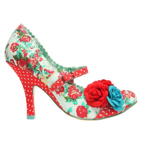 flowers shoes and floral shoes from irregular choice hawaii