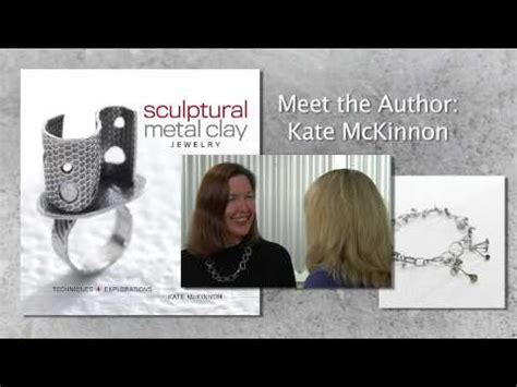 Sculptural Metal Clay Jewelry With Dvd kate mckinnon s sculptural metal clay jewelry
