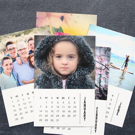 diy photo calendar magnets   templates   autumn