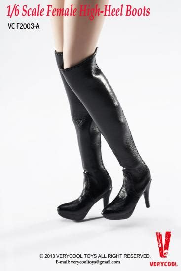 High Heels Um Black models de knee high boots a black kaufen