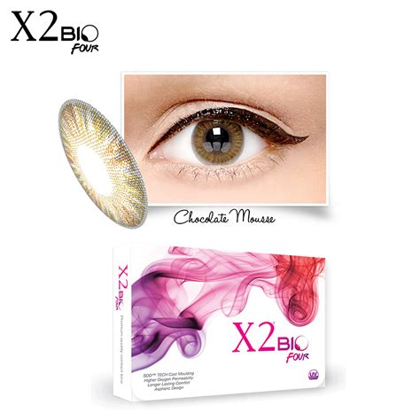 X2 Bio Four By Skyshop softlens x2 bio four chocolate mouse gogobli