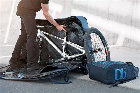 hardshell cycling db equipment the trail packs up mountain bikes in new