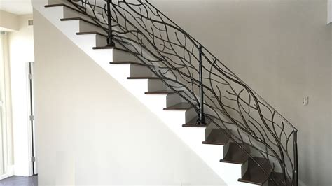 Wrought Iron Stair Railing Interior by Interior Iron Railings Iron Railings Interior Stairs