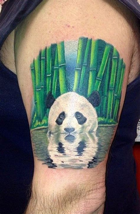 panda tattoos designs i don t want this one but how is this bamboo and