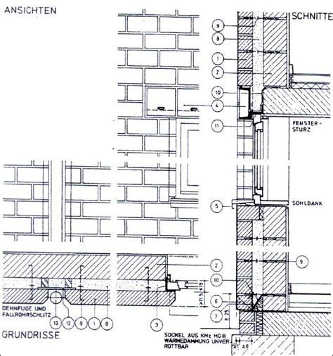 sockel zweischaliges mauerwerk zweischalige au 223 enwandkonstruktion