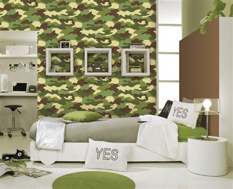 camo wallpaper for bedroom amazing camouflage bedroom interior decoration for boys