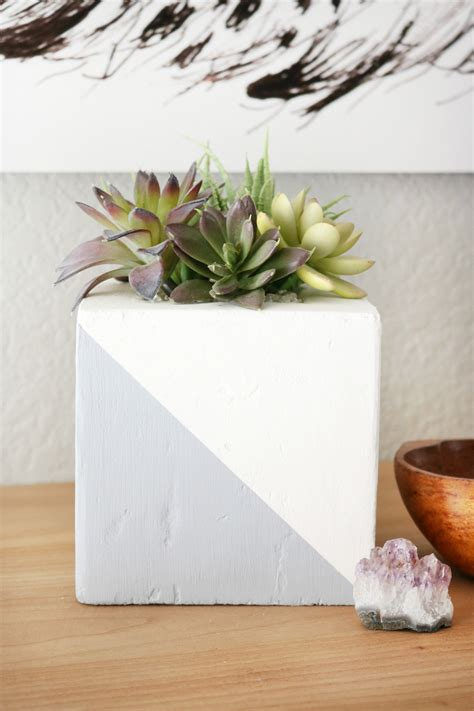 Diy Faux Concrete Planter Faux Concrete Planters