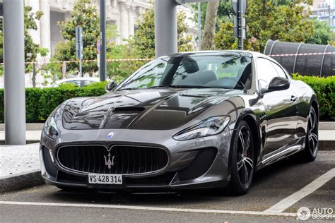 Maserati Gran Turismo Mc by Maserati Granturismo Mc Stradale 2013 25 Giugno 2017
