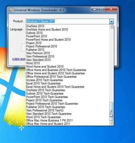 official ms office 2010 and windows iso via