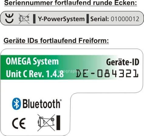 Aufkleber Drucken Excel by Fortlaufende Seriennummer Nr 54 Typographus De