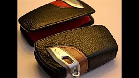 bmw leather key case     series youtube
