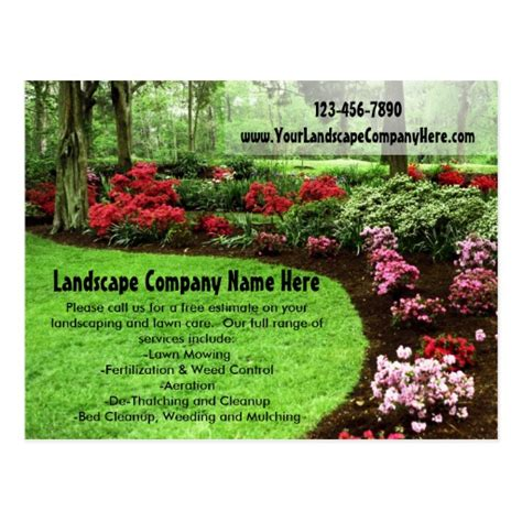 card templates landscape bl design landscaping business cards learn how
