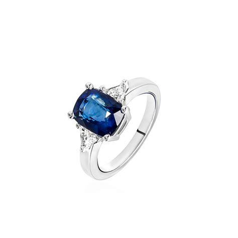 comptoir cardinet parly 2 solitaire saphir diamants