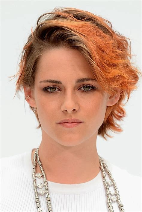 kristen stewart cut her hair see her new short haircut