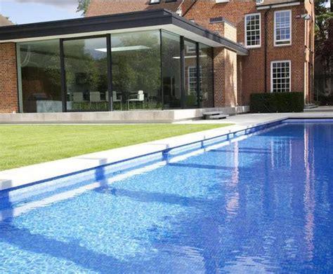 outdoor lap pool luxury outdoor lap pool private client london guncast