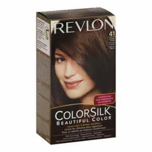 revlon hair color revlon colorsilk hair color dye medium brown 41 hair
