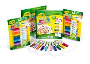 colores crayola crayola color refill set 2 mess free