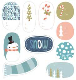 My free printable holiday tags paper crave