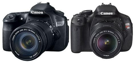 Canon 500d Vs 600d canon eos 600d t3i vs 60d which one should you buy