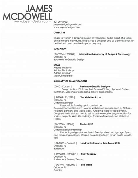copy and paste resume template berathen