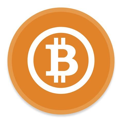 bitcoin ico bitcoin icon button ui requests 6 iconset blackvariant