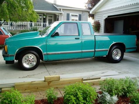 car maintenance manuals 1992 gmc sonoma transmission control purchase used 1992 gmc sonoma s15 s10 quot custom quot hot rod nice l k in allenton