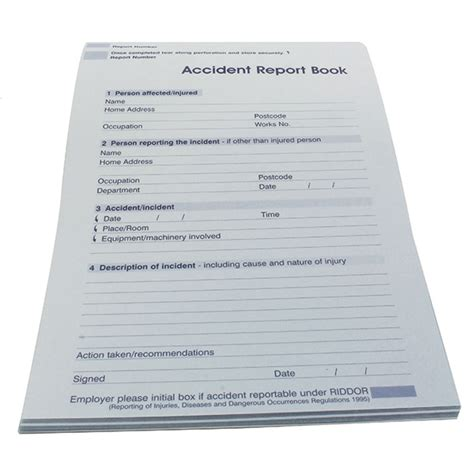 incident report book incident report book buy