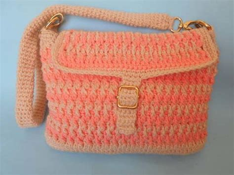 Handmade Crochet - easy handmade crochet bag favecrafts