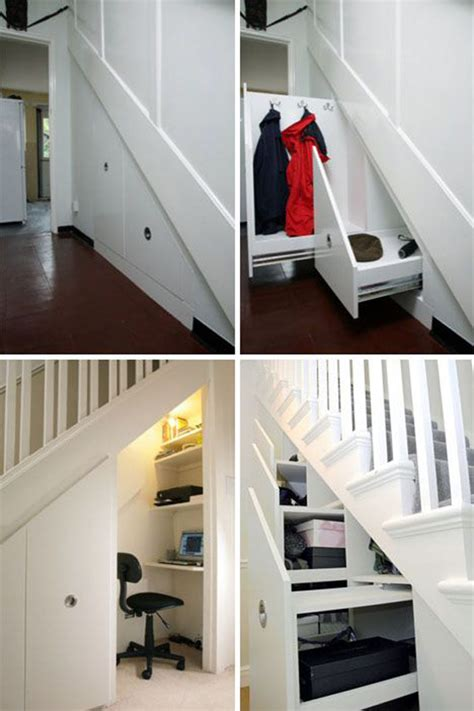 Stair Storage Closet by Closet Understairs