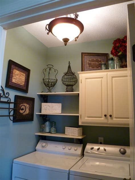 Small Laundry Room Storage A Small Laundry Room Tons Of Storage Laundry Pinterest