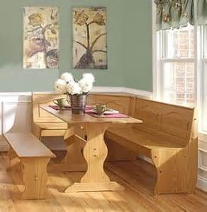 Pine Kitchen Nook by Pine Wood 3 Breakfast Nook Set For A Looking