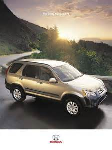 honda cr v brochure 23 best honda cr v brochures 2002 2006 images on