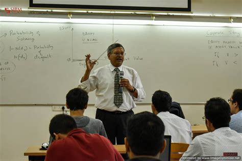 Fordham Mba Information Session by Prof N Chidambaran Phd School Of Business And