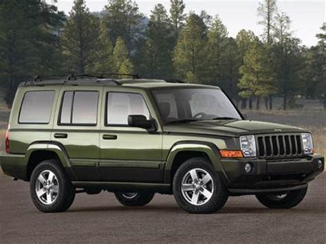 nissan jeep 2009 2009 jeep commander pricing ratings reviews kelley
