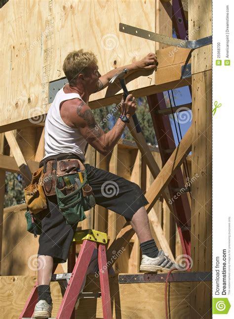 carpenter editorial image image of structure