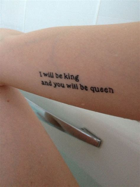 queen lyrics tattoo ideas lyrics tattoologist