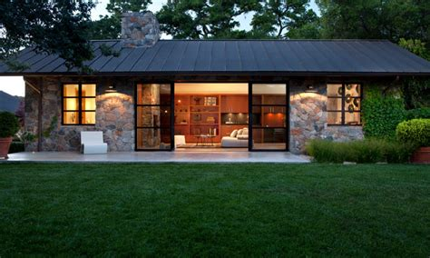 modern cottage design stone cottage house with metal roof tiny romantic cottage