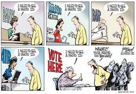 voter id laws and the question of political satire humor