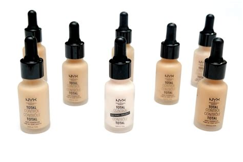 Jual Nyx Total Drop Foundation by The Beautynerd Where And Videogames Collide