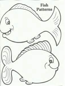 free printable fish templates rainbow fish template az coloring pages