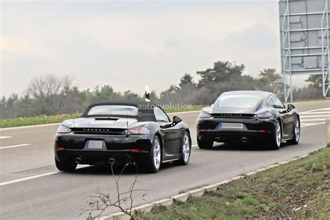 2020 The Porsche 718 by 2020 Porsche 718 Cayman Boxster Spied With Flat Sixes May