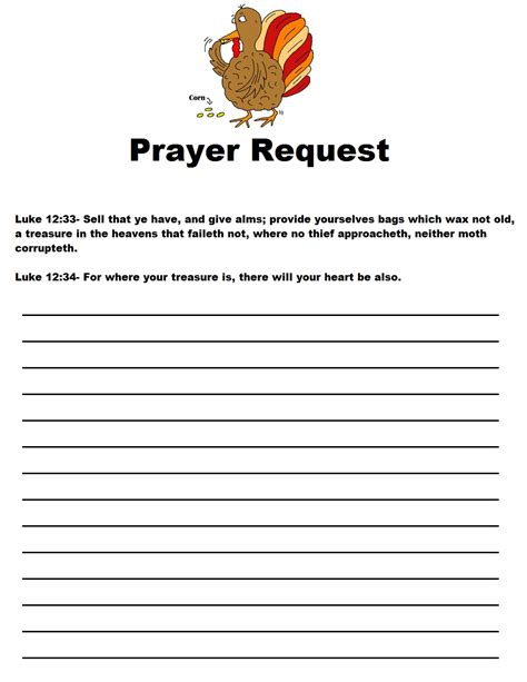 free prayer card template thanksgiving legend sunday school lesson