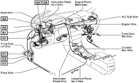 2004 corolla fuel relay diagram toyota corolla 2004